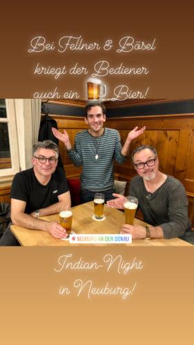 Indien in Neuburg an der Donau